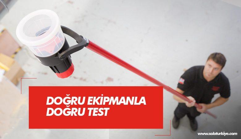 Solo 330 Duman Dedektörü Test Cihazı